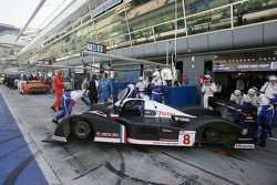 Zone des stands Peugeot