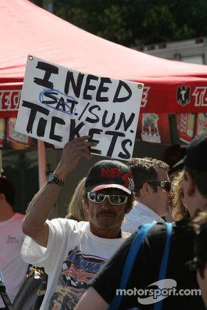 Les fans veulent billets