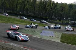 Vintage cars race