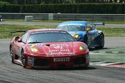 #98 Ice Pol Racing Team Ferrari F430 GT: Yves Lambert, Christian Lefort, Fred Bouvy