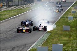 Mikhail Aleshin, Carlin Motorsport, Alvaro Parente, Tech 1 Racing