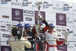 Alvaro Parente, Tech 1 Racing, Michael Aleshin, Carlin Motorsport. Marco Bonanomi, RC Motorsport