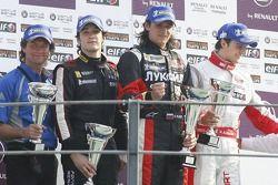Alvaro Parente, Tech 1 Racing, Michael Aleshin, Carlin Motorsport, Marco Bonanomi, RC Motorsport
