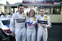 Alexandros Margaritis, Susie Stoddart et Mathias Lauda