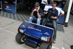 David Brabham et Stefan Johansson