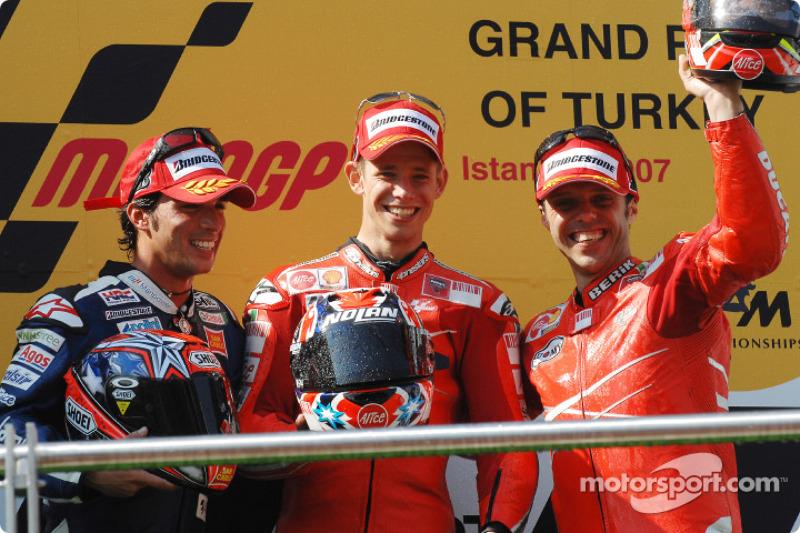 #9 - Casey Stoner - GP de Turquía 2007