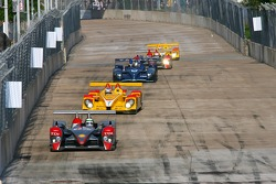 #1 Audi Sport North America Audi R10 TDI Power: Rinaldo Capello, Allan McNish leads the field