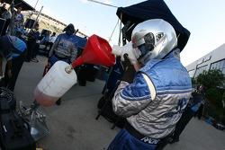 Highcroft Racing au travail