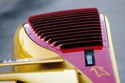 Détail de la Penske Motorsports Porsche RS Spyder