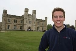 Robbie Kerr, pilote de A1 Equipe de Grande Bretagne à Leeds Castle