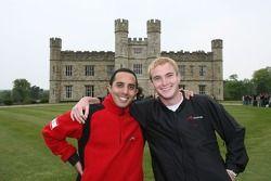 Basil Shaaban, pilote A1 Equipe du Liban et Jonathan Summerton, pilote A1 Equipe des Etats Unis