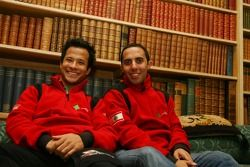 Allam Khodair, pilote A1 Equipe du Liban et Khalil Beschir, pilote A1 Equipe du Liban