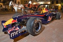 Voiture Red Bull en Colombie