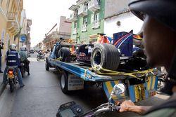Red Bull Racing ShowCar Columbia