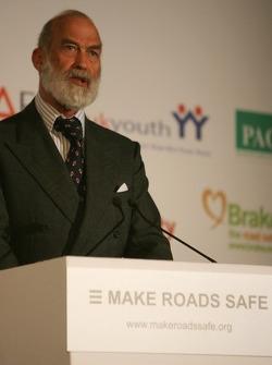 UN Rally for Safer Roads, HRH Prens Michael, Kent