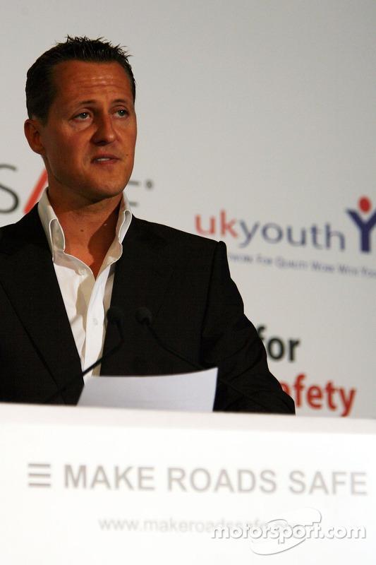 UN Rally for Safer Roads, Michael Schumacher, Scuderia Ferrari, Advisor