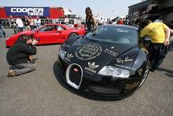 Gumball 3000 bij de A1 Grand Prix