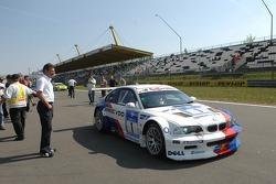 Dr Mario Theissen (BMW Motorsport Direktör), Olaf Manthey M3 GTR