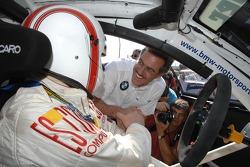 Dr Mario Theissen (BMW Motorsport Direktör) ve Olaf Manthey