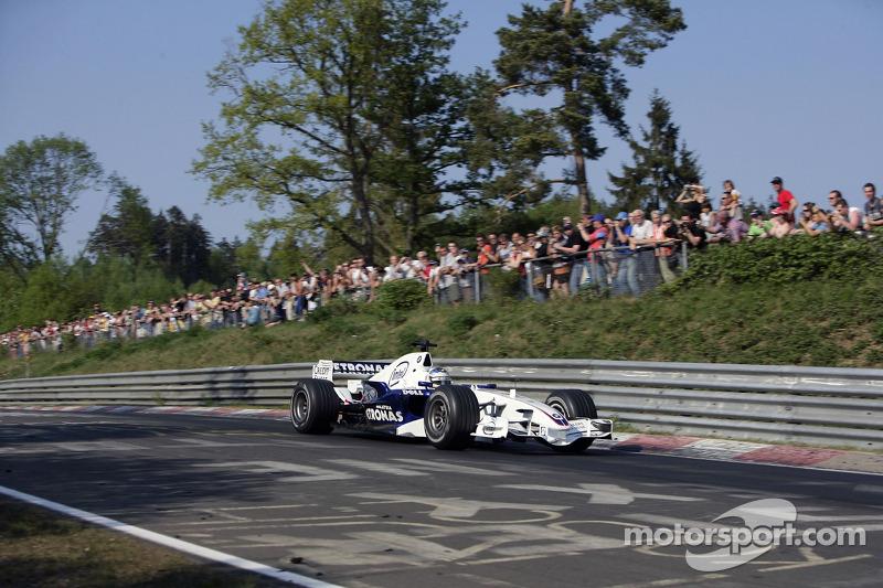 Nick Heidfeld, BMW Sauber F1 Team,, Nordschleife Circuit BMW Sauber F1