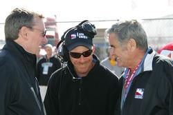 Johnny Rutherford, Kevin Blanch et Al Unser Sr.
