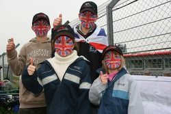 Team Great Britain fans