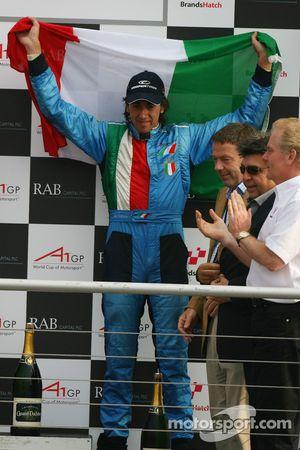 Podium: 3ème, Enrico Toccacelo, pilote A1 Equipe d'Italie