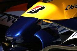 Aileron avant Renault F1 Team
