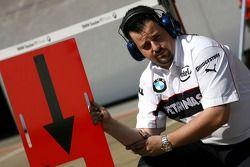 Mécanicien BMW Sauber F1