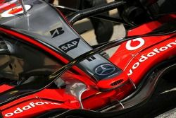 McLaren Mercedes nouveau aileron avant