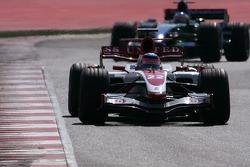 Takuma Sato, Super Aguri F1 Team, Rubens Barrichello, Honda Racing F1 Team