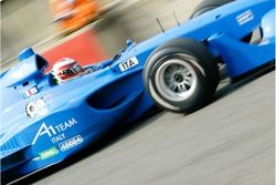 La A1 Equipe d'Italie Lola A1GP de Enrico Toccacelo