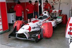 La A1 Equipe du Canada Lola A1GP de Sean McIntosh