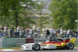 la A1 Equipe d'Allemagne Lola A1GP de Nico Hulkenberg