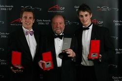Third place nation A1 Team GBR with Robbie Kerr, Tony Clements and Oliver Jarvis