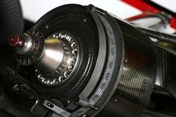 Super Aguri F1 Team système de freinage