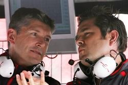 Nick Fry, Honda Racing F1 Team, Gil de Ferran, Honda Racing F1 Team