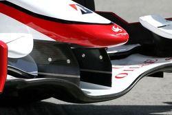 Super Aguri F1 Team aileron avant