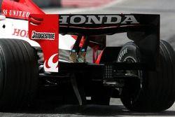 Super Aguri F1 Team aileron arrière