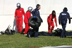 Accident de Nico Rosberg qui finit mal