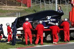 Accident de Nico Rosberg qui finit mal