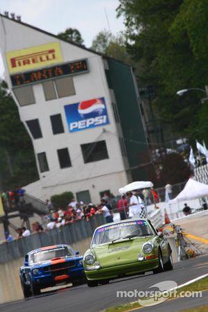 Historique Production, pilote #365, Pete Brittingham, '69 Porsche 911