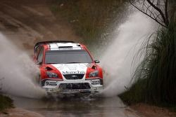 Juan Pablo Raies and Jorge Sergio Perez Companc, Ford World Rally Team, Ford Focus RS WRC
