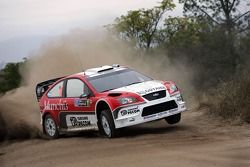 Luis Perez Companc et Jose Volta, Ford World Rally Team, Ford Focus RS WRC