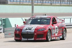 #02 Blackforest Motorsports Mazda RX-8: Carlos Lira, Squeak Kennedy