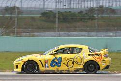#68 SpeedSource Mazda RX-8: Scott Schlesinger, , David Haskell