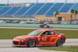 #62 Roar Racing Mazda RX-8: Andrew Carbonell, Chip Van Vurst, Rob Whitener III