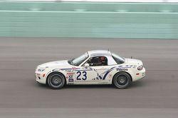 #23 MY Motorsports Mazda MX-5: Brad Rampelberg, Don Thibaut