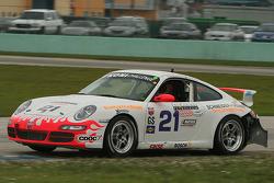 #21 Bodymotion Racing Porsche 997: Michael Bavaro, Jeff Adams, Tony Nuzzo