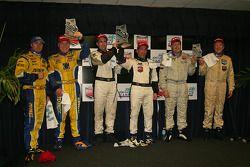 Koni GS Podium: Tom Nastasi, Ian James; Bill Auberlen, Chris Geason; Steve Jenkins, Nick Ham